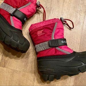 EUC Sorel Flurry Waterproof Boots